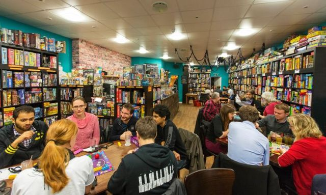 Thirsty Meeples board game cafe, Oxford. Photograph: Graham Turner.